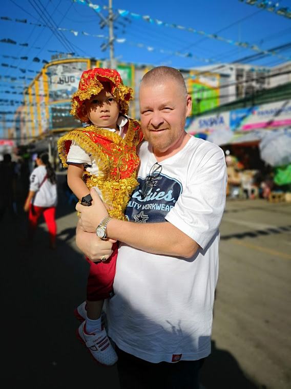 I met the real, live Santo Nino at Sinulog!