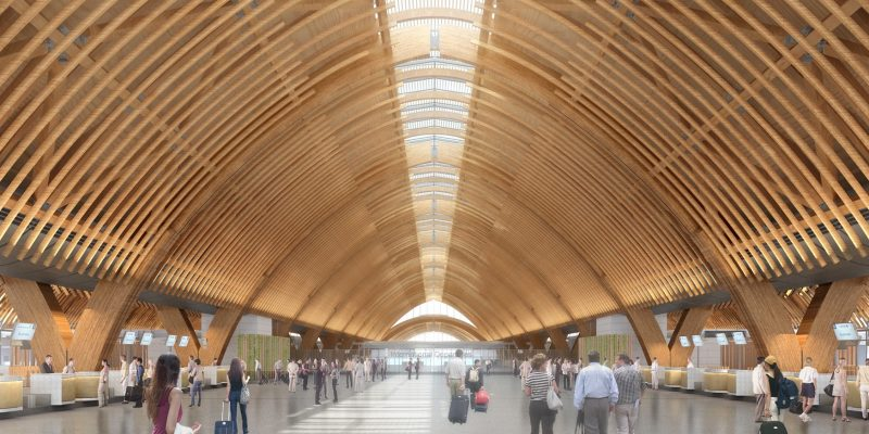 New International Terminal at Cebu Mactan International Airport