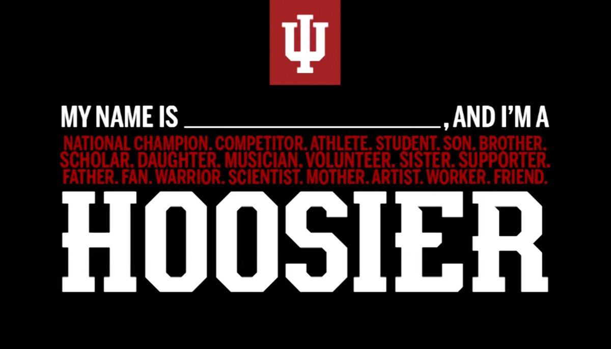 I am officially a Hoosier now