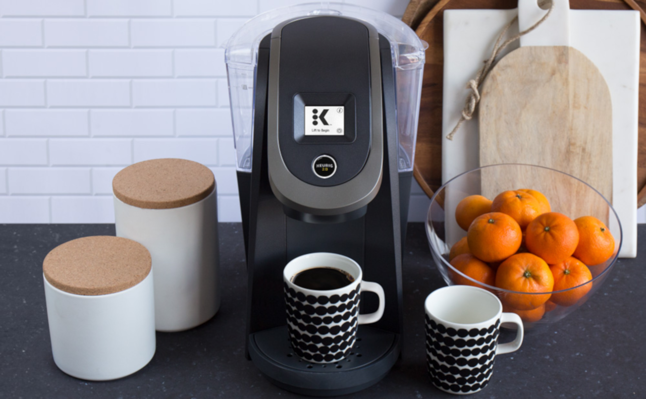 Our Keurig K-Cut Brewer