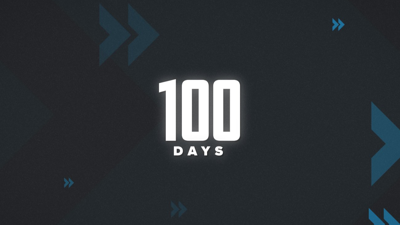 100 days back in the USA